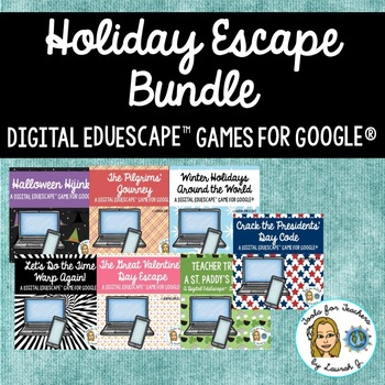 EduEscape™ Holiday Digital Game Bundle for Google®