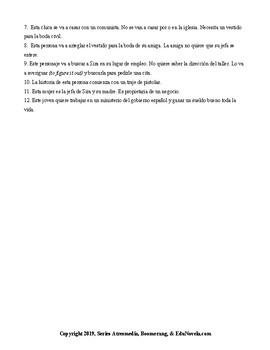 EduNovela El tiempo entre costuras Ep. 1 intermediate