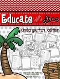 Educate With Dice (Kindergarten Edition)