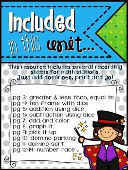Educate With Dominoes (Kindergarten Edition)