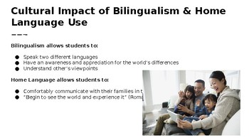 Educating Ourselves on Bilingualism & Home Language Use