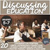 Education- A Conversation Class