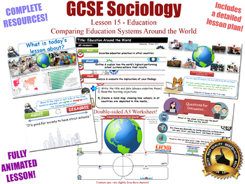 Education Around the World - Sociology of Education (GCSE Sociology - L15/20)