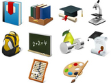 Education Icons & Graphics