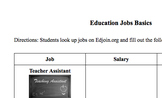 Education Job Basics