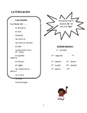 Education & School Vocabulary