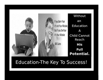 Education-The Key to Success 2A (Poster)