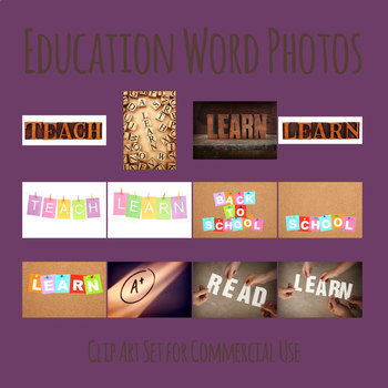 Education Themed Photos / Photograph Clip Art for Commercial Use