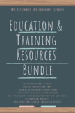 Education & Training Bundle (Family and Consumer Sciences)