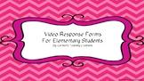 Education Video Response Sheets