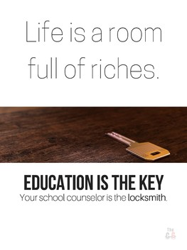Education is the Key Poster