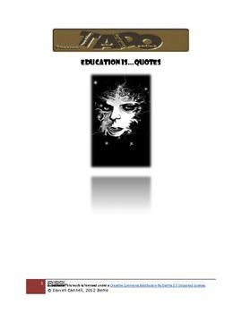 Education is...Quotes TADO