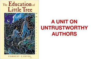 Education of Little Tree (Novel Unit on Untrustworthy Authors)