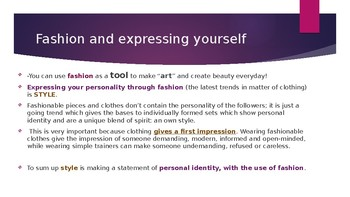 Education to Style, Beauty and Self Improvement(Life Skills, Dress Code )