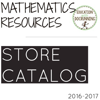 Education with DocRunning Mathematics Resources Catalog