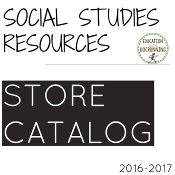 Education with DocRunning Social Studies Resources Catalog