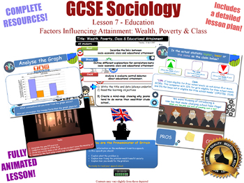 Educational Achievement and Poverty, Wealth & Class- Education (Sociology L7/20)