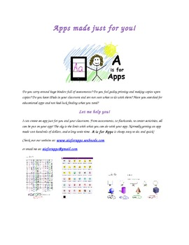 Educational Apps Made Just For You!