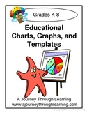 Educational Charts, Graphs, and Templates