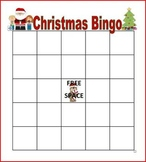 Educational Christmas Bingo
