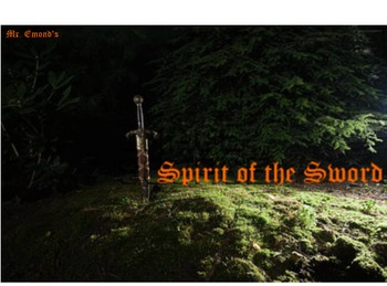 Educational Comma Role-Playing Video Game - Spirit of the Sword