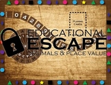 Educational Escape - Decimals and Place Value Escape Room Activity