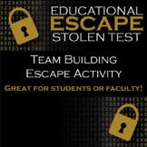 Educational Escape: Stolen Test Team Building Activity