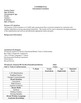 Education Evaluation Template (Special Education)