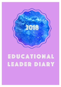 Educational Leader Reflection Diary