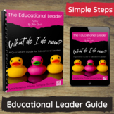 Educational Leader Role - A Quickstart Guide for PreK, Childcare, Daycare.