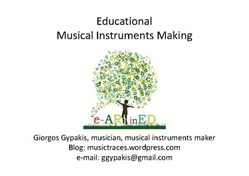 Educational Musical Instruments Making