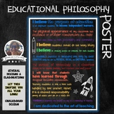 Educational Philosophy Poster