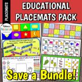 Educational Placemat BUNDLE