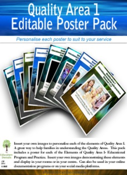Educational Program and Practice Poster Pack
