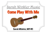 Educational Recording: Come Play With Me (MP3+Instrumental