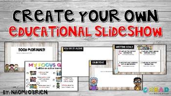 Educational Slideshow Templates