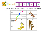 Educational Snakes and Ladders