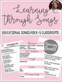 Educational Songs K-5
