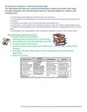 Educational Specialist Stronge Model Organizational System