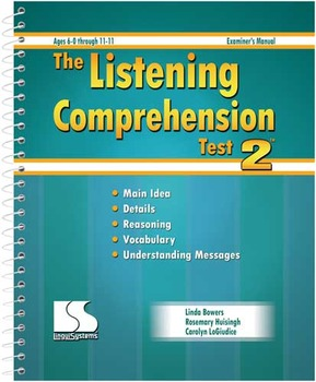 Educational Speech-Language Re-evaluation using The Listening Test-2 Template
