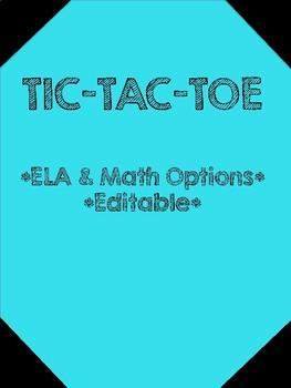 Educational Tic-Tac-Toe