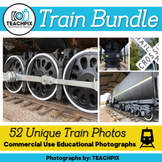 Train Photograph Bundle (with Bonuses!) - for Commercial Use