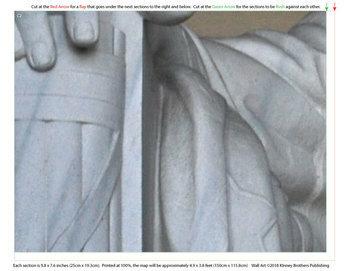 Educational Wall Art - Lincoln Memorial
