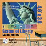 Educational Wall Art - Statue of Liberty