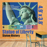 Educational Wall Art - Statue of Liberty