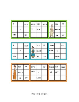 Educational game to teach Roman Numerals in a fun way