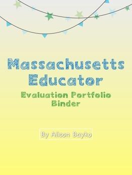 Educator Evaluation Evidence Binder (Massachusetts)