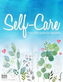 """Educator Self-Care Sticky Note Quotes / 3"""" x 3"""" *60 Quotes*"""