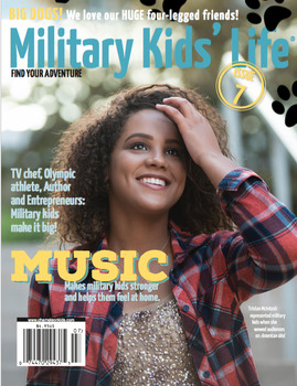 Educator's Guide to MILITARY KIDS' LIFE Issue 7