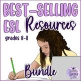 My Best-selling ESL Resources Bundle (Speaking, Reading, Writing)